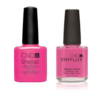 CND - Shellac & Vinylux Combo - Hot Pop Pink-Beyond Polish