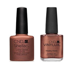 CND - Shellac & Vinylux Combo - Leather Satchel-Beyond Polish