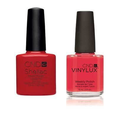 CND - Shellac & Vinylux Combo - Lobster Roll-Beyond Polish