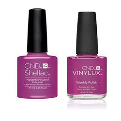CND - Shellac & Vinylux Combo - Magenta Mischief-Beyond Polish