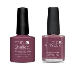 CND - Shellac & Vinylux Combo - Married To Mauve-Beyond Polish