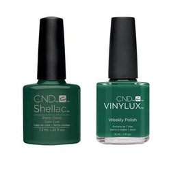 CND - Shellac & Vinylux Combo - Palm Deco-Beyond Polish