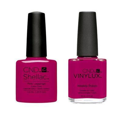 CND - Shellac & Vinylux Combo - Pink Leggings-Beyond Polish