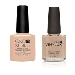 CND - Shellac & Vinylux Combo - Powder My Nose-Beyond Polish