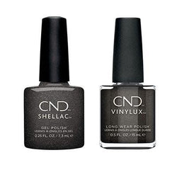 CND - Shellac & Vinylux Combo - Powerful Hematite-Beyond Polish