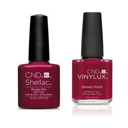 CND - Shellac & Vinylux Combo - Rouge Rite-Beyond Polish