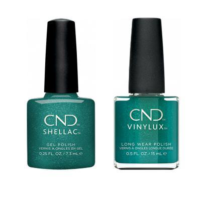 CND - Shellac & Vinylux Combo - She's A Gem!