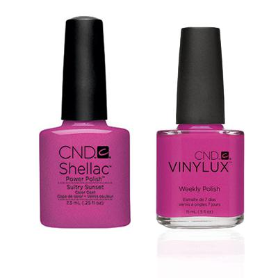 CND - Shellac & Vinylux Combo - Sultry Sunset-Beyond Polish