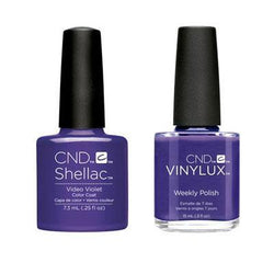 CND - Shellac & Vinylux Combo - Video Violet-Beyond Polish