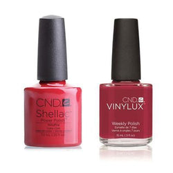 CND - Shellac & Vinylux Combo - Wildfire-Beyond Polish