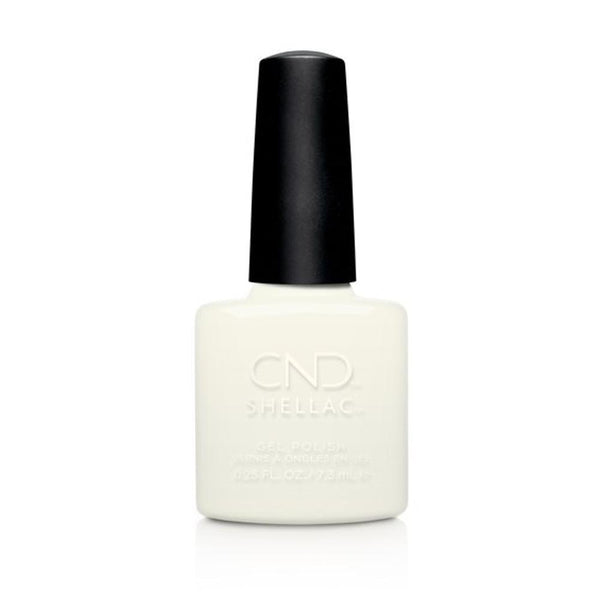 CND - Shellac White Wedding (0.25 oz)-Beyond Polish