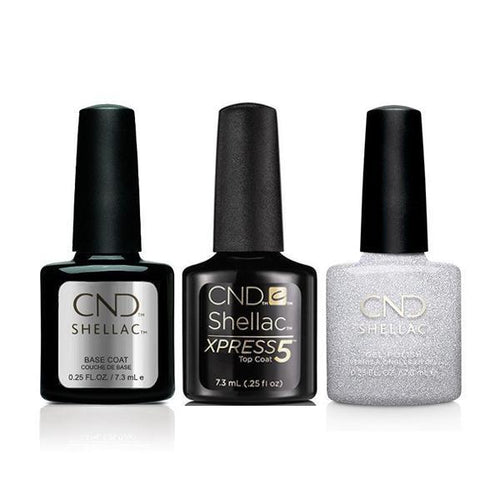 CND - Shellac Xpress5 Combo - Base, Top & After Hours (0.25 oz)-Beyond Polish