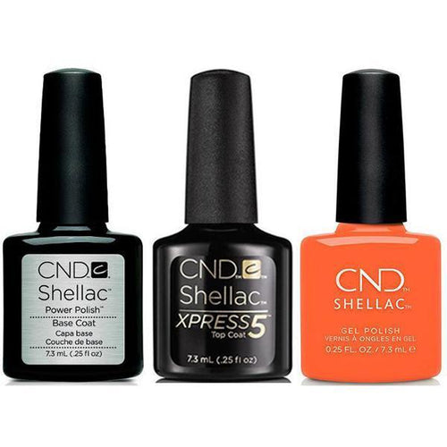 CND - Shellac Xpress5 Combo - Base, Top & B-Day Candle (0.25 oz)-Beyond Polish