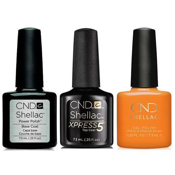 CND - Shellac Xpress5 Combo - Base, Top & Gypsy (0.25 oz)-Beyond Polish