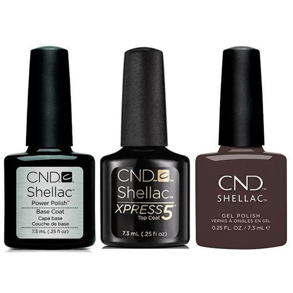 CND - Shellac Xpress5 Combo - Base, Top & Phantom (0.25 oz)-Beyond Polish