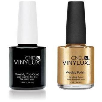 CND - Vinylux Topcoat & Brass Button 0.5 oz - #229-Beyond Polish