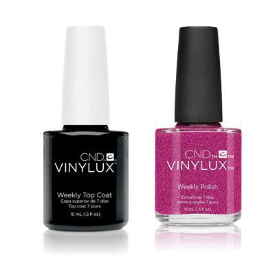CND - Vinylux Topcoat & Butterfly Queen 0.5 oz - #190-Beyond Polish
