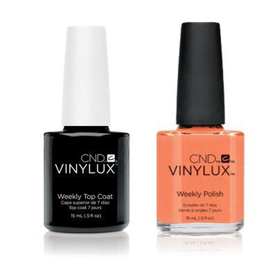 CND - Vinylux Topcoat & Shells In The Sand 0.5 oz - #249-Beyond Polish