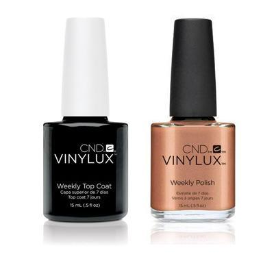 CND - Vinylux Topcoat & Sienna Scribble 0.5 oz - #213-Beyond Polish
