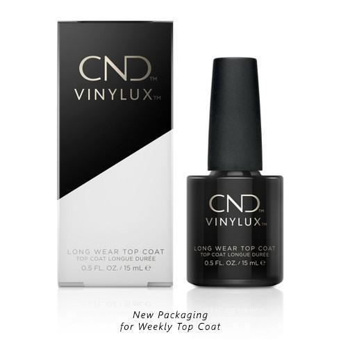 CND - Vinylux Weekly Long Ware Top Coat 0.5 oz-Beyond Polish