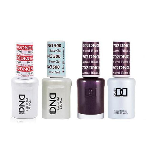 DND - #500#600 Base, Top, Gel & Lacquer Combo - Astral Blast - #702-Beyond Polish