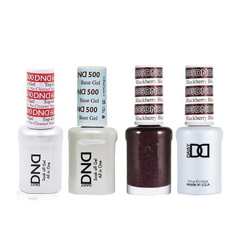DND - #500#600 Base, Top, Gel & Lacquer Combo - Blackberry Blast - #695-Beyond Polish