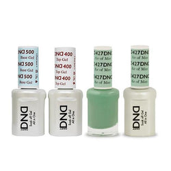 DND - Base, Top, Gel & Lacquer Combo - Air of Mint - #427-Beyond Polish