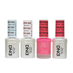 DND - Base, Top, Gel & Lacquer Combo - Candy Pink - #539-Beyond Polish