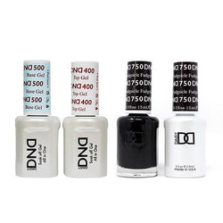 DND - Base, Top, Gel & Lacquer Combo - Fudgsicle - #750-Beyond Polish