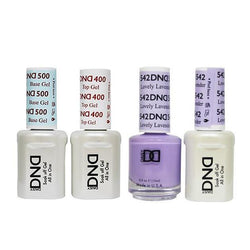 DND - Base, Top, Gel & Lacquer Combo - Lovely Lavender - #542-Beyond Polish