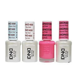 DND - Base, Top, Gel & Lacquer Combo - Princess Pink - #538-Beyond Polish