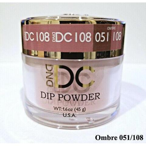 DND - DC Dip Powder - Barn Red 2 oz - #108-Beyond Polish