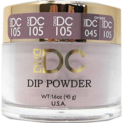 DND - DC Dip Powder - Beige Brown 2 oz - #105-Beyond Polish