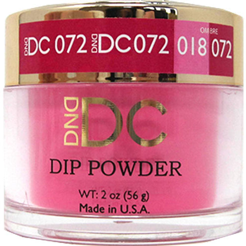 DND - DC Dip Powder - Crimson 2 oz - #072-Beyond Polish