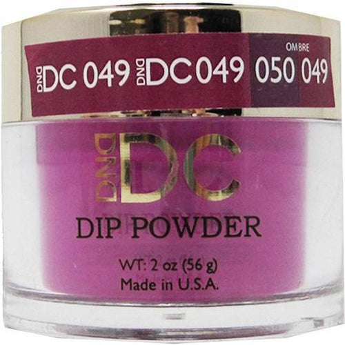 DND - DC Dip Powder - Dazzle Zone 2 oz - #049-Beyond Polish