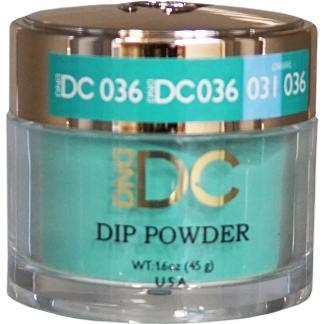DND - DC Dip Powder - Dublin Green 2 oz - #036-Beyond Polish