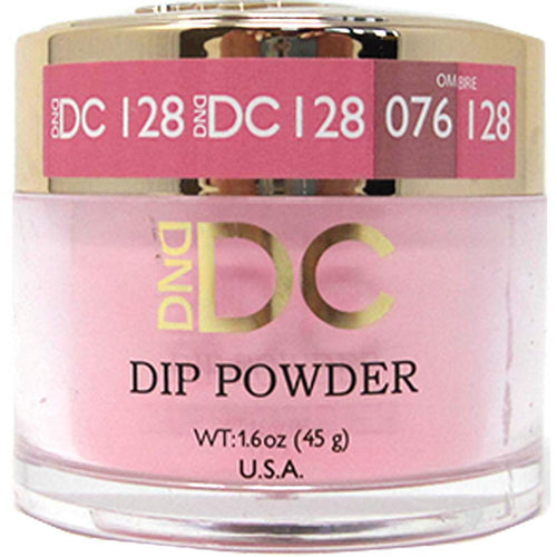 DND - DC Dip Powder - Fuzzy Wuzzy 2 oz - #128-Beyond Polish