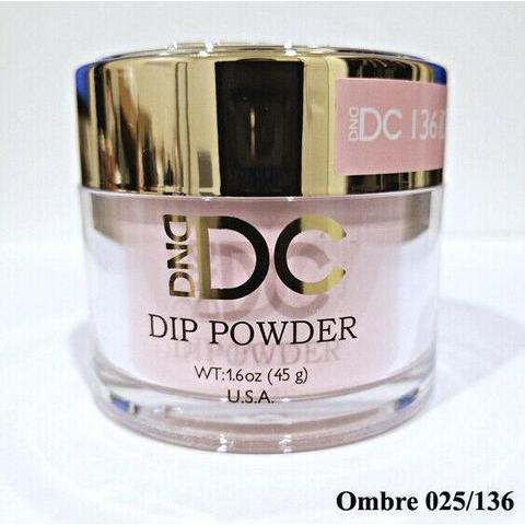 DND - DC Dip Powder - Geranium Pink 2 oz - #136-Beyond Polish