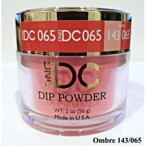 DND - DC Dip Powder - Thai Chili Red 2 oz - #065-Beyond Polish