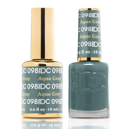 DND - DC Duo - Aqua Gray - #DC098-Beyond Polish