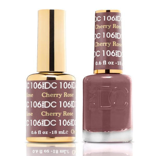 DND - DC Duo - Cherry Rose - #DC106-Beyond Polish
