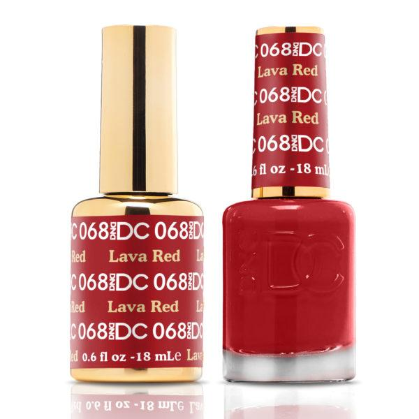 DND - DC Duo - Lava Red - #DC068-Beyond Polish