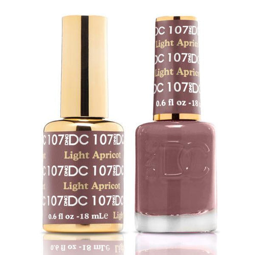 DND - DC Duo - Light Apricot - #DC107-Beyond Polish