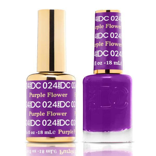DND - DC Duo - Purple Flower - #DC024-Beyond Polish