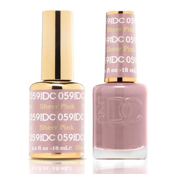DND - DC Duo - Sheer Pink - #DC059-Beyond Polish