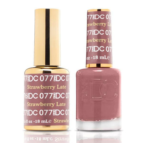 DND - DC Duo - Strawberry Latte - #DC077-Beyond Polish