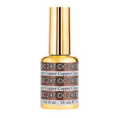 DND - DC Mermaid Collection - Copper 0.5 oz - #247-Beyond Polish