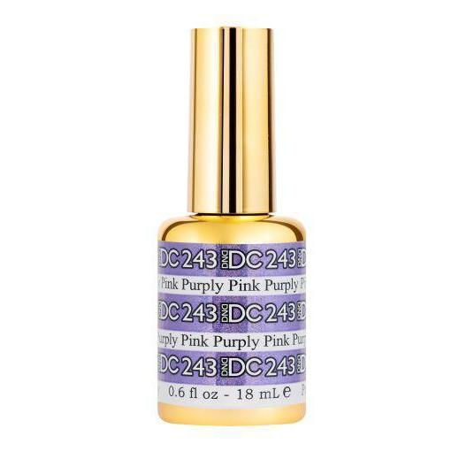 DND - DC Mermaid Collection - Purply Pink 0.5 oz - #243-Beyond Polish