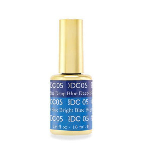 DND - DC Mood Change Gel - Blue Deep Bright Blue 0.5 oz - #05-Beyond Polish