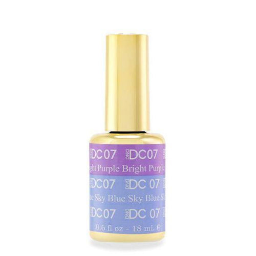 DND - DC Mood Change Gel - Bright Purple Blue Sky 0.5 oz - #07-Beyond Polish